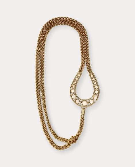 Double-Chain Pendant Necklace