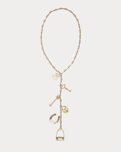 Gold-Plated Charm Necklace