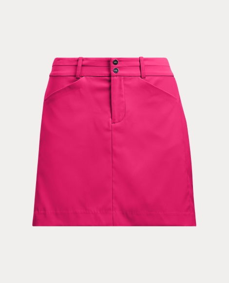 Stretch Sateen Skort