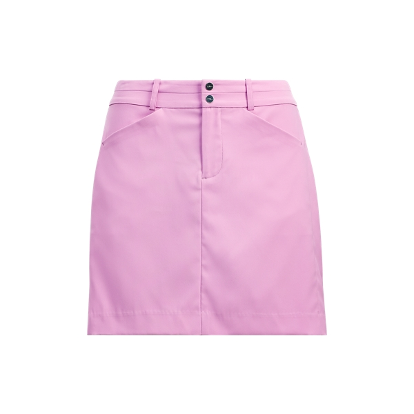 Ralph Lauren Stretch Sateen Skort Rose 4