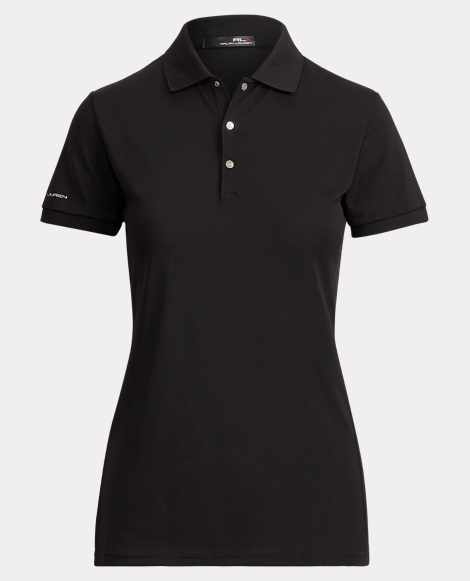 Tailored Fit Stretch Mesh Polo