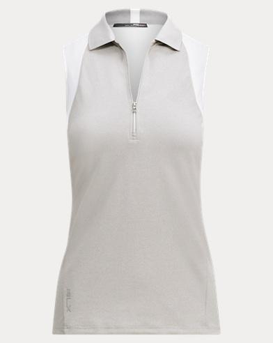 Piqué Racerback Polo Shirt