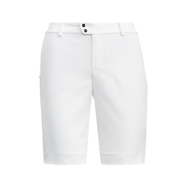 Ralph Lauren Satin Short Pure White 2