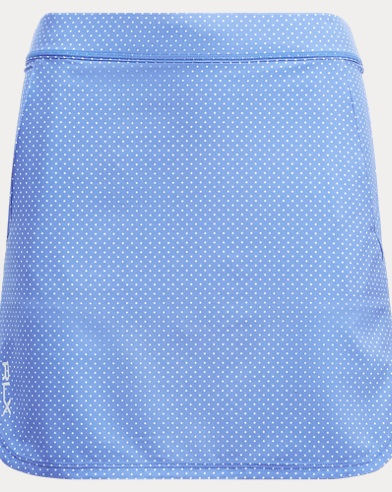 Polka-Dot Stretch Skort