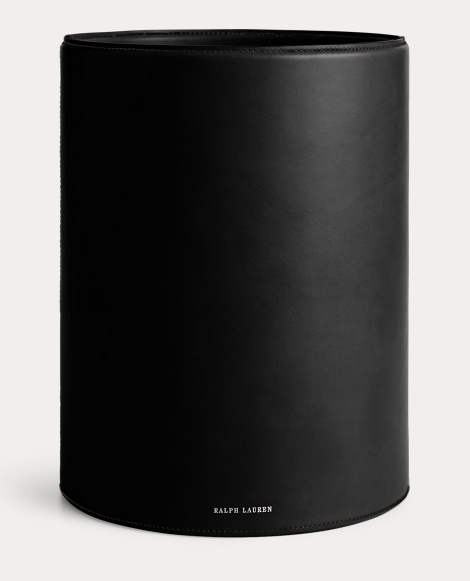 Brennan Leather Waste Bin