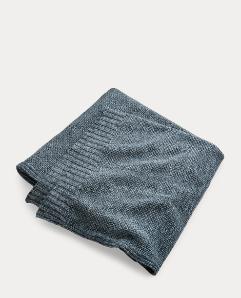 Wilke Knit Cotton Bed Blanket