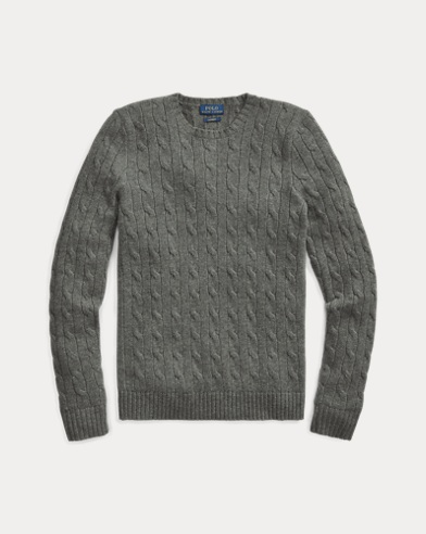 Polo Ralph Lauren. Tuxedo Bear Wool Sweater. $398.00. Cable-Knit Cashmere  Sweater. color ...