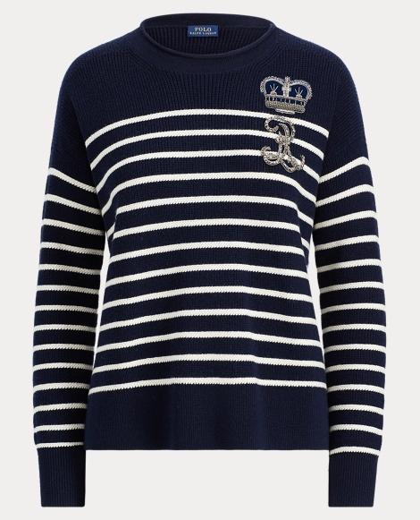 Bullion Striped Wool Sweater