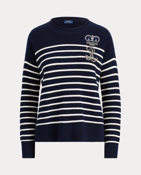 Bullion Striped Wool Sweater