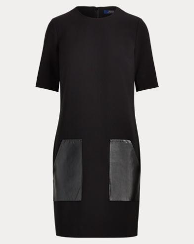 Leather-Pocket Cady Dress