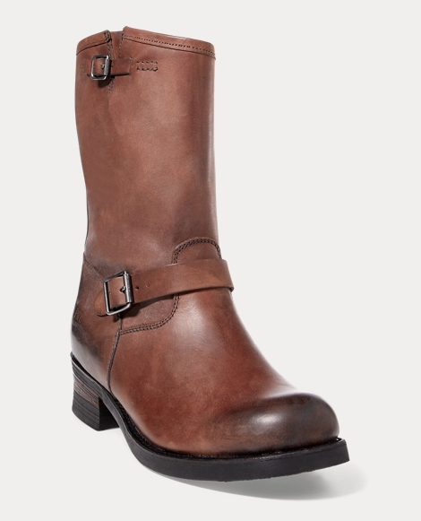Eldin Leather Engineer Boot