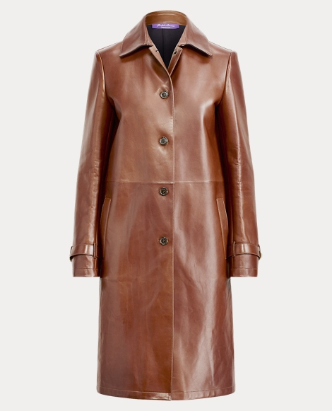 Paxton Leather Coat