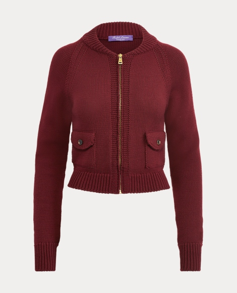Merino Raglan-Sleeve Sweater