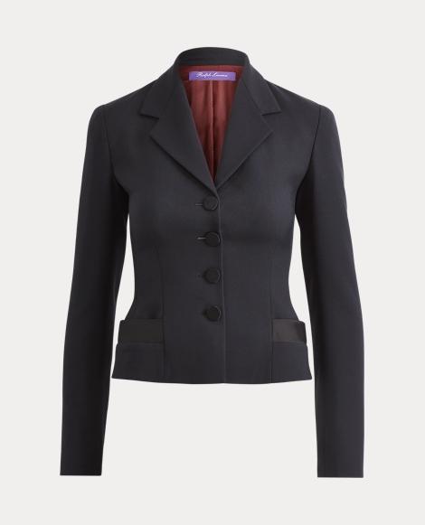 Margaret Wool-Silk Jacket