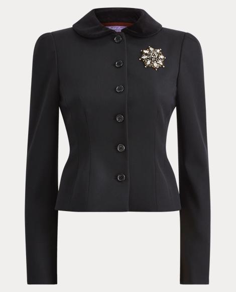 Cecillia Wool Gabardine Jacket