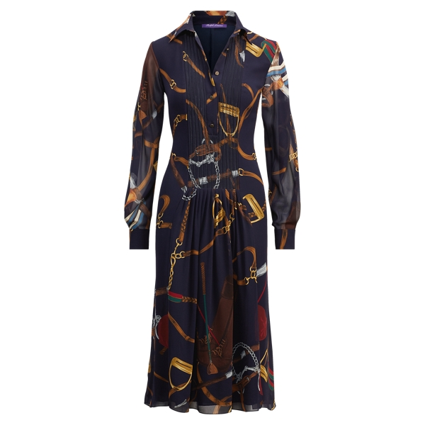 Ralph Lauren Vanessa Equestrian Dress Multi 2