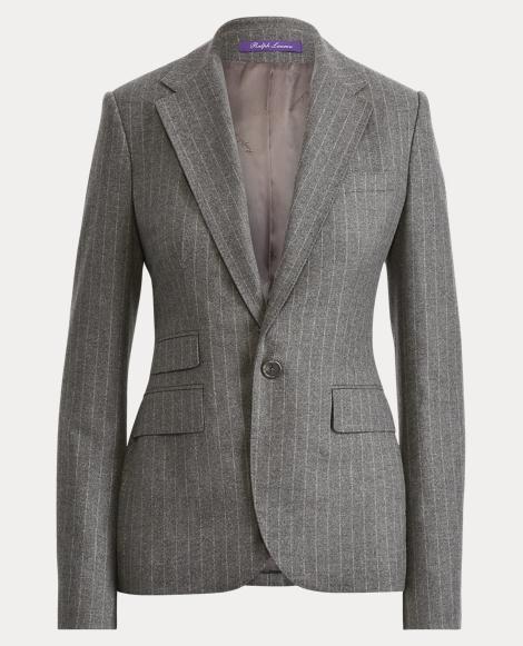 Parker Chalk-Stripe Jacket