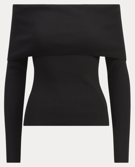 Merino Off-the-Shoulder Top