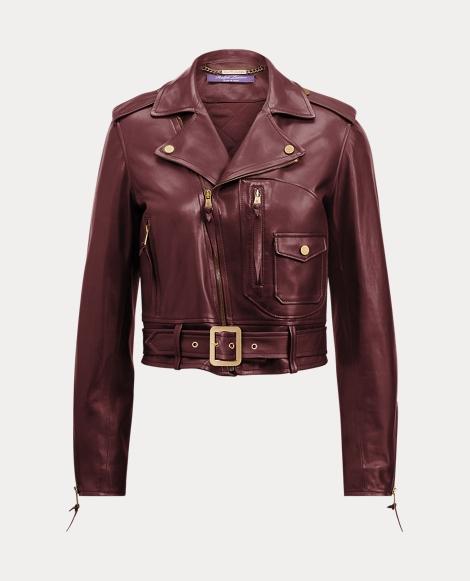 Cayden Leather Moto Jacket