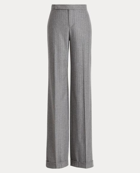 Alexa Wool Wide-Leg Pant