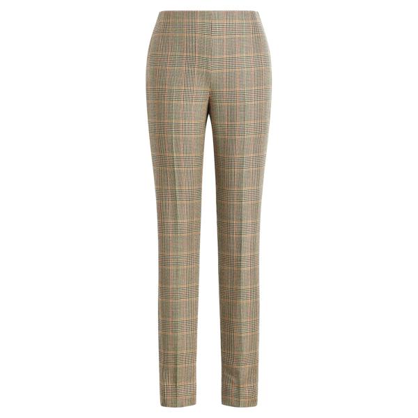 Ralph Lauren Annie Glen Plaid Wool Pant Multi 2