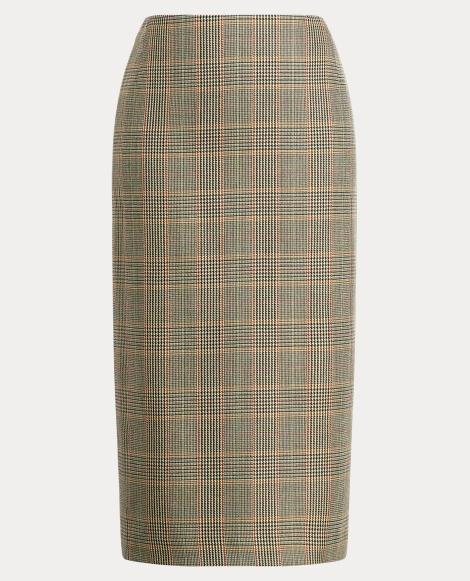 Cynthia Wool Pencil Skirt