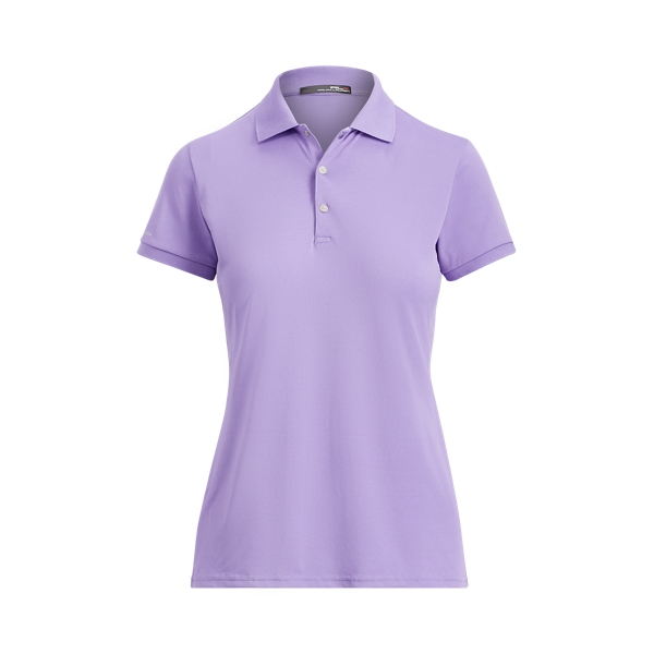 Ralph Lauren Tailored Fit Golf Polo Shirt Charter Purple Xs