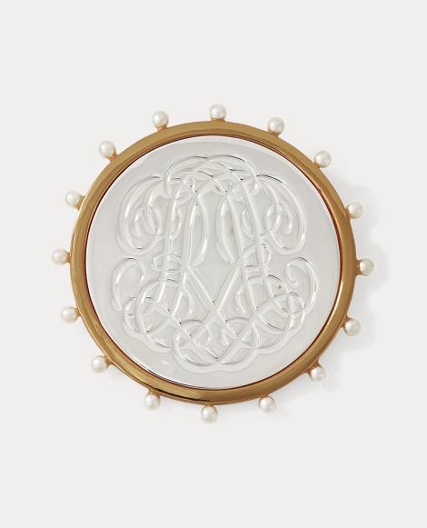 RR-Engraved Brooch