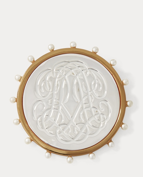 RR-Engraved Brooch
