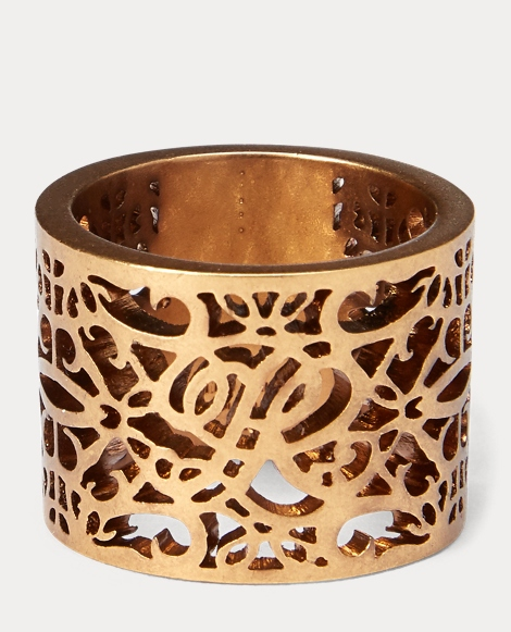 Gold-Plated Barrel Ring