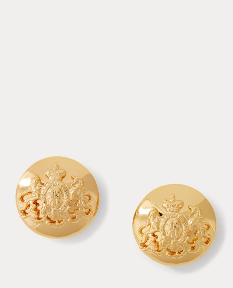 Crest Stud Earrings