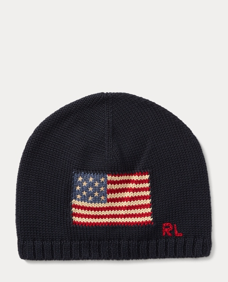 Flag Combed Cotton Beanie