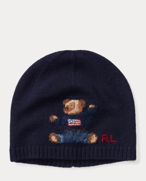 Polo Bear Merino Wool Hat