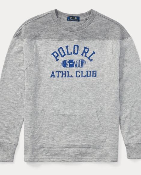 Slub Cotton Jersey Sweatshirt
