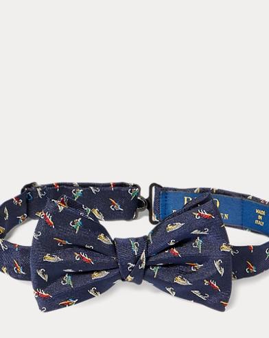 Print Silk Bow Tie
