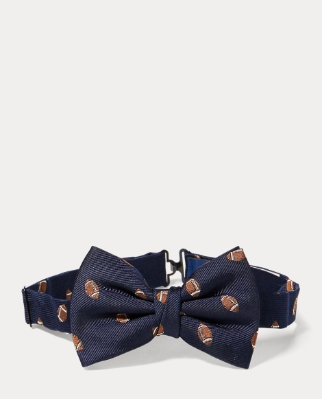 Football Silk Club Bow Tie