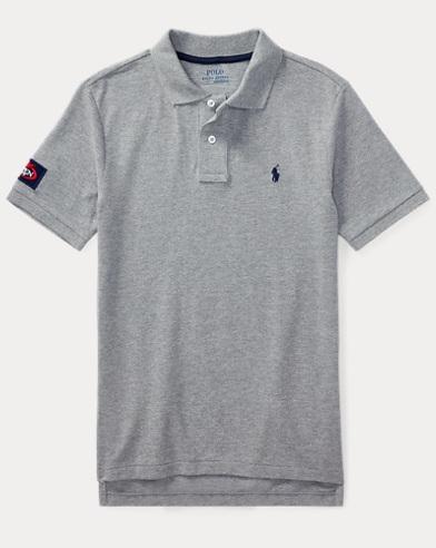 US Open Cotton Mesh Polo Shirt
