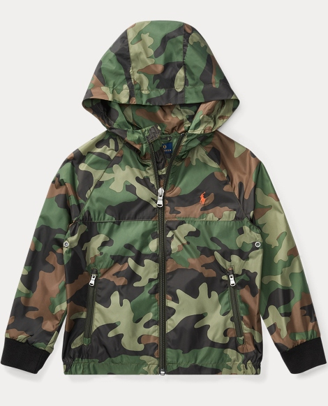 Coated Windbreaker