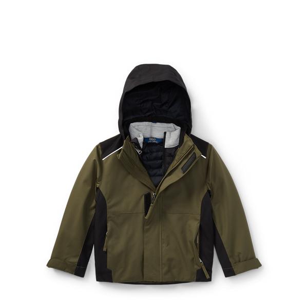 Ralph Lauren 3-In-1 Coat Fall Olive 3T