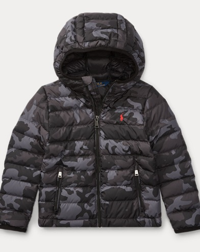 Packable Camo Down Jacket