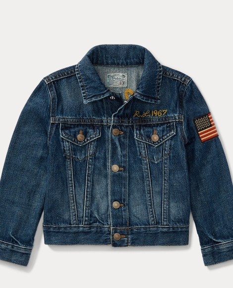 Embellished Trucker Jacket