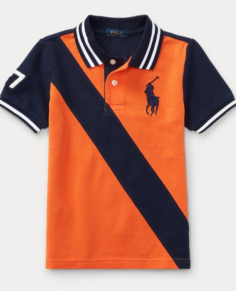 Banner Cotton Mesh Polo