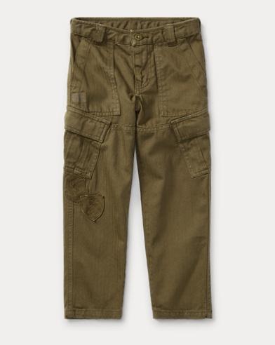 Slim Fit Cotton Cargo Pant