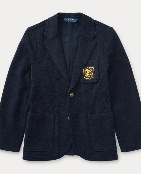 Cotton French Terry Jacket