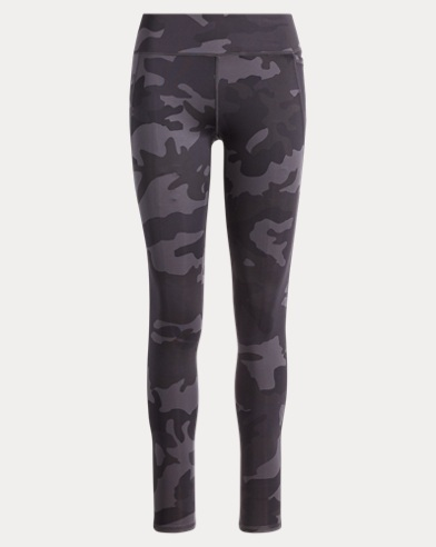 Camo-Print Jersey Legging