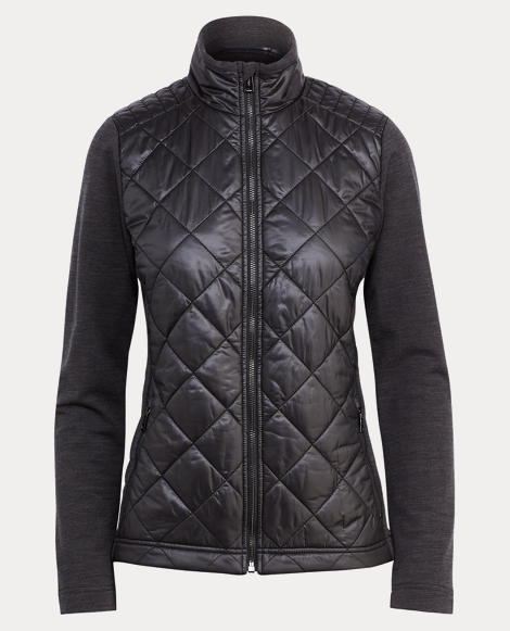 Ripstop-Wool Quilted Jacket