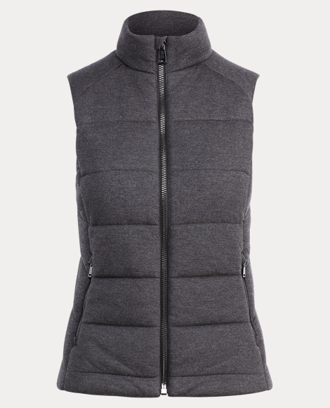 Quilted Full-Zip Vest