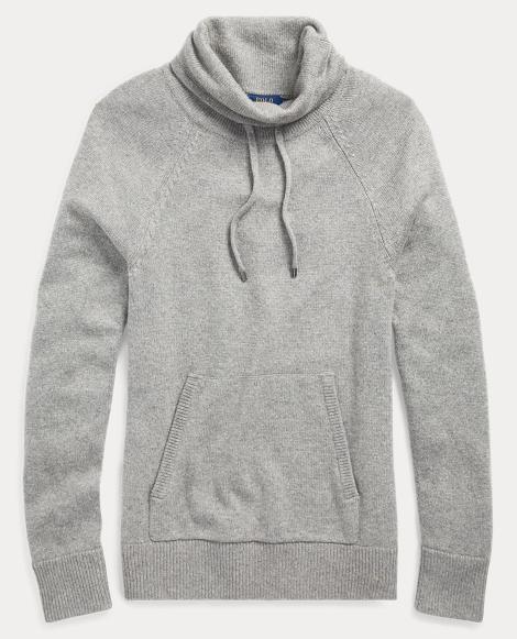 Drawstring Funnelneck Sweater