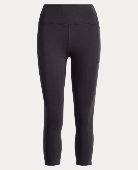 Cropped Stretch Jersey Legging