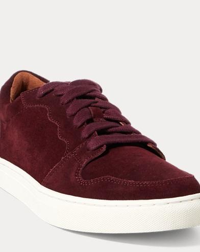 Jeston Suede Low-Top Sneaker